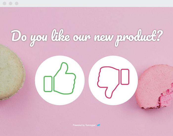 Product feedback survey